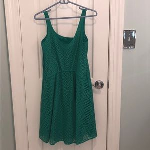Max Studio Dresses - Max Studio Teal Lace Dress